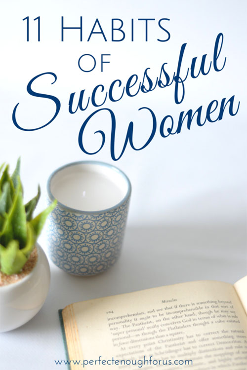 11 habits of successful women