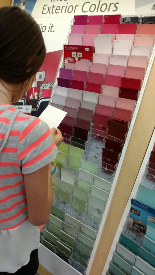 Star choosing paint color resized