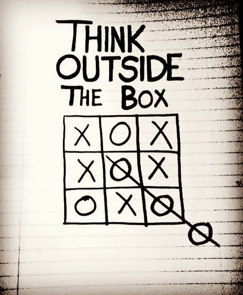Think outside the box 2