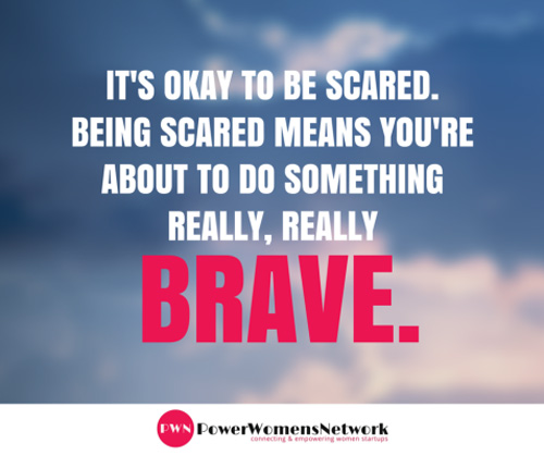 its okay to be scared